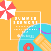 Summer Sermon Series 2017