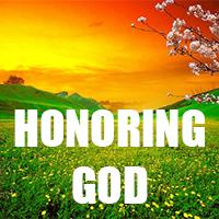 HonoringGod_sermon